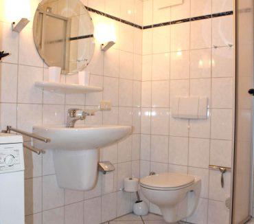 Badezimmer Ferienwohnung Duhnen Wehling
